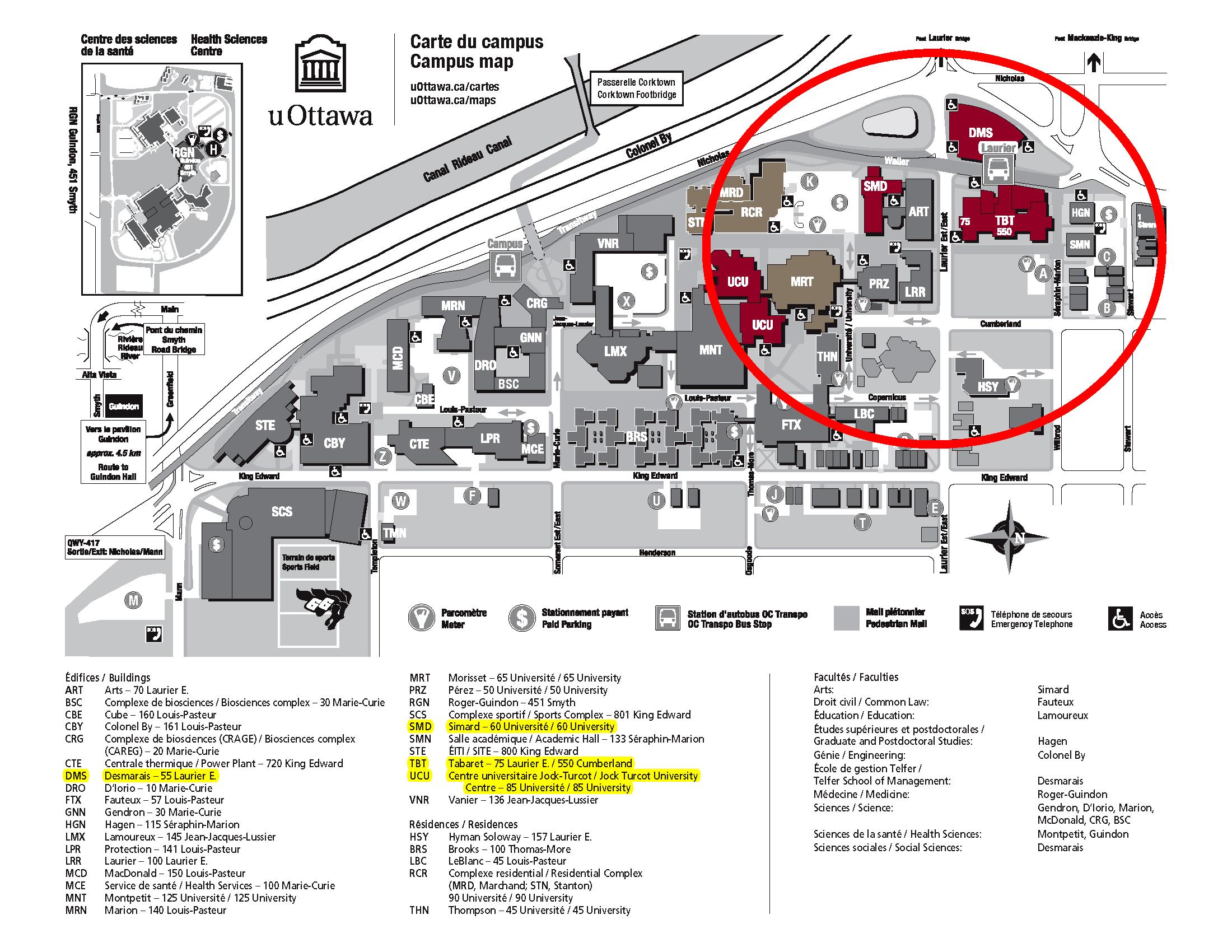 U Of O Campus Map | compressportnederland